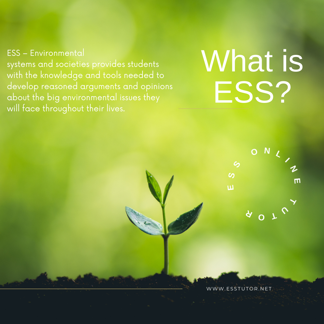 What is ESS?